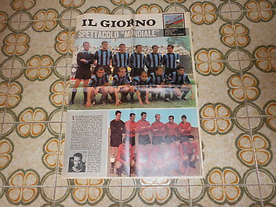 Calcio Supplemento  Del Giorno N 216  23-9-1964   Finale   Inter Independiente