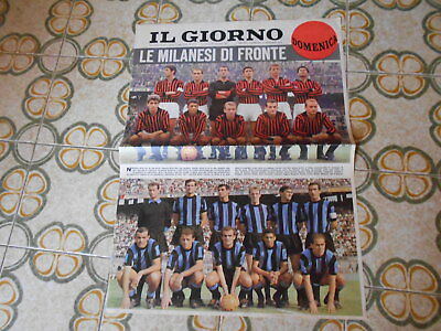 Calcio Supplemento  Del Giorno N 262  15-11-1964   Milan Inter