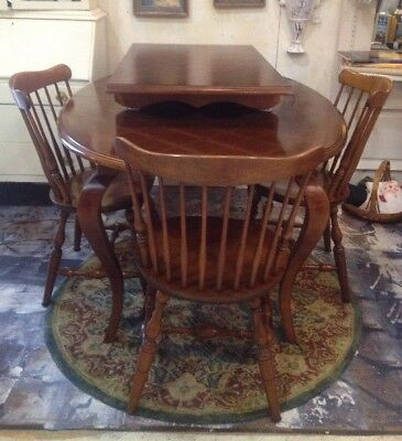 Drexel Heritage Table & Leaf & 4 Bent Bros Chairs  SALE!  PICK UP ROSWELL, GA