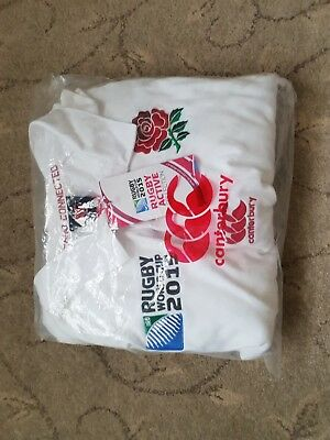 new England Rugby World Cup 2015 Long Sleeved Shirt 3XL New With Tags