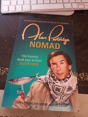 "Alan Partridge NOMAD, ""The funniest book ever written"" Caitlin Moran"