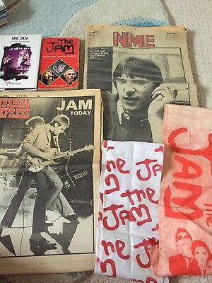 The Jam /Paul Weller cuttings collection