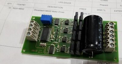 Devantech MD22 24V 5A Dual H-Bridge Motor Driver