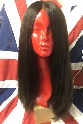 Dimples Adele Human Hair Remy Wig Hand Tied Silk Lace Monofilament Lace Front