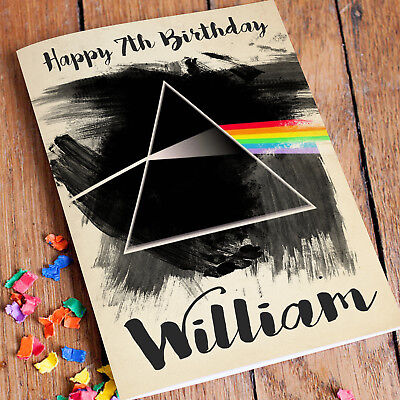 Pink Floyd Personalised Birthday Card Free Shipping The Dark Side Of The Moon 2 85 Picclick Uk