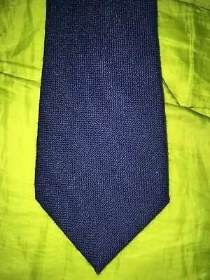 A Vintage Gentleman's Blue W Bill Ltd Tie Mens Collectable Clothing