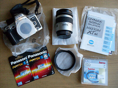 Minolta Dynax 505si & 28-80mm lens in mint condition