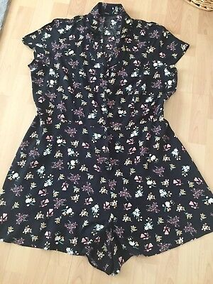 playsuit size 18