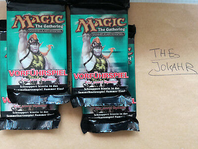 Magic TG Booster Sealed/ Eighth Edition, Achte Edition / 8. Edition Vorführspiel