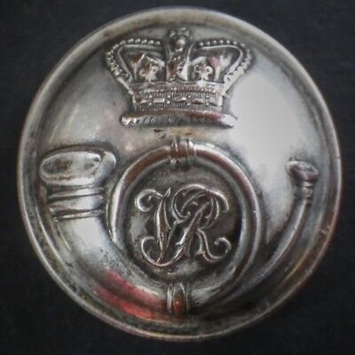 Unidentified Victorian Rifle Volunteers / Militia Large Plated Button