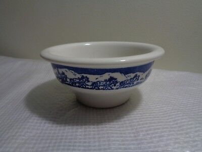 Early Wallace China LA California Pioneer Trails Chili Bowl Soup Cup