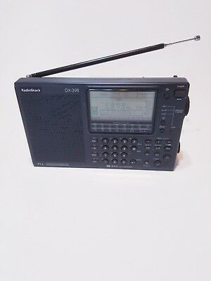 Radio Shack  DX 398 Shortwave AM- FM  receiver radio Cat No 20-228