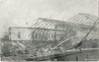 Saltley Gas Explosion,Birmingham(posted on 20 Oct 1904-10 days after explosion)