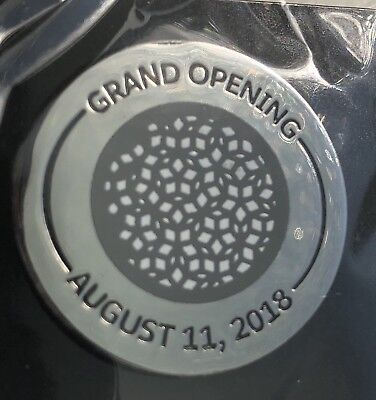 Commemorative Salesforce Transit Center August 11 '18 Opening Day Pin Unopened