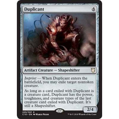1x DUPLICANT - Shapeshifter - Commander - MTG - NM - Magic the Gathering