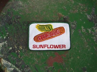 Vintage Dekalb Seed Sunflower Patch Sign