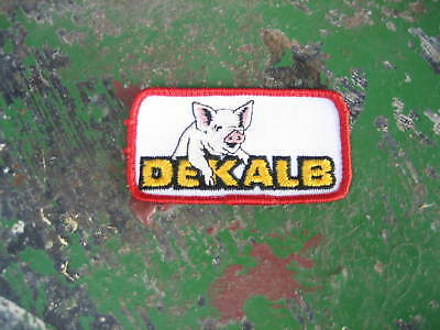 Vintage Dekalb Seed Corn Pig Feed Patch sign