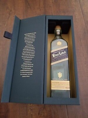 Johnnie Walker Blue Label Bottle with Gift Box SORRY EMPTY