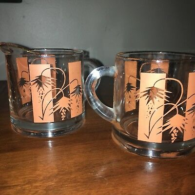 Bartlett Collins Tropic Cream And Sugar Set