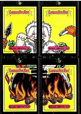 Anthony Bourdain 1/1 Puzzle🔥full Color Sketch Card Topps 2017 Garbage Pail Kids