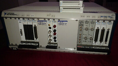 National Instruments NI PXI-1045 w/NI PXI-2532/2567/5112 Controller and Modules