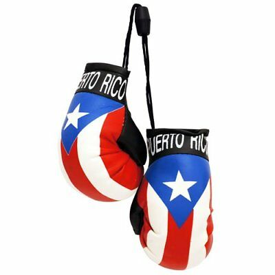 IRAQ FLAG Mini Boxing Gloves Ornament *NEW*