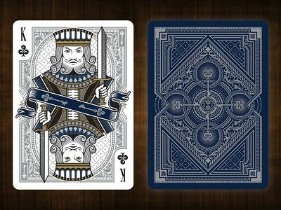 Bicycle Spirit Blue Playing Cards Limited Edition Sealed New Gambler's Warehouse