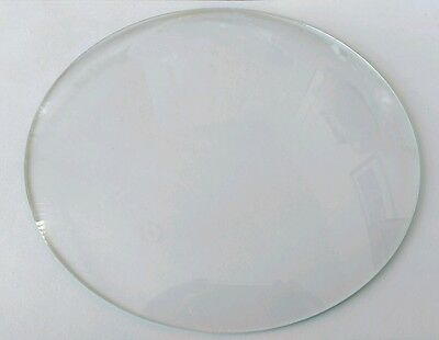 Round Convex Clock Glass Diameter 7 3/16'''