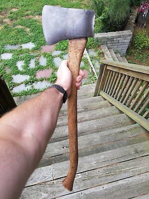 "Vintage Plumb Victory Connecticut axe 3.25lb 30"" very nice all original"