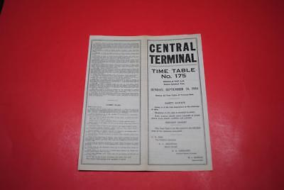 1954 Toledo Central Terminal ETT #175 EXC-Great Op Info w/Signal Indications!!