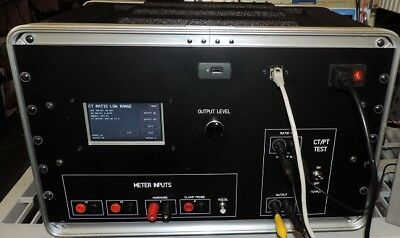 Current Transformer Test Set with full function Phase Angle Meter