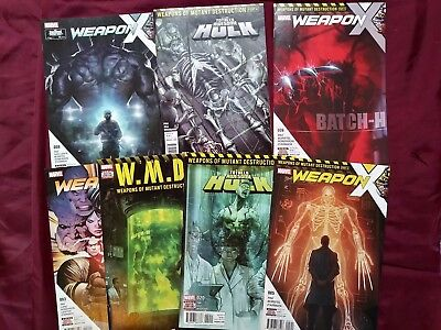 Totally Awesome Hulk, Weapons of Mutant Destruction, Weapon X lot high grade!
