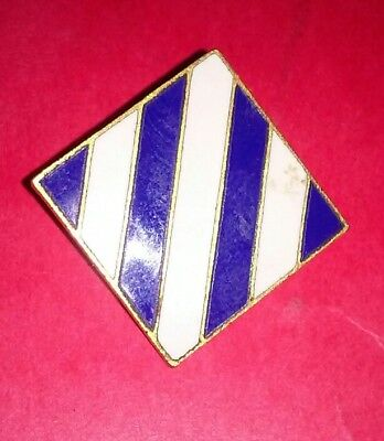 WW2 Pinback 3rd Infantry Division DUI WWII DI