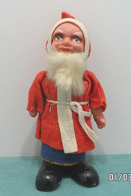 Antique Christmas Candy Container Composition Belsnickle Santa Claus Germany