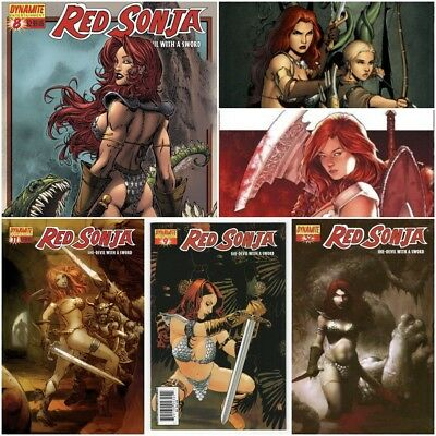 Red Sonja #0-80 (Dynamite Entertainment)