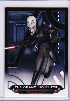 2018 Topps Star Wars Galactic Files GRAND INQUISITOR SP Photo Variation REB-7