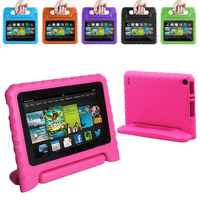 2015 Amazon Kindle Fire 7 Tablet PC Children Kid Safe Case EVA Foam Cover Stand