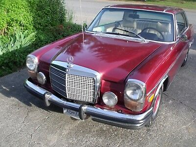 Mercedes-Benz: 200-Series 280c 1973 mercedes 280c