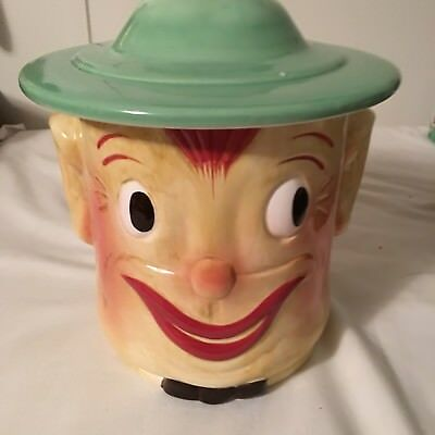 Block Cookie Jar Classics ~ Smiling Oscar - Hand painted Collectible W Box