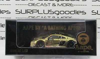 Tarmac Works 1:64 Scale AAPE Phoenix Racing AUDI LMS R8 GT Asia 2016 Marchy Lee
