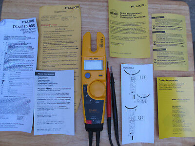 FLUKE T5 600 Unused Demo Perfect All instructions Clear Packaging Excellent !!