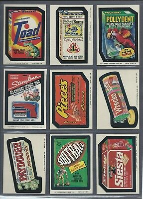Wacky Packages Series 12 Complete Set 27/27 Nmmt