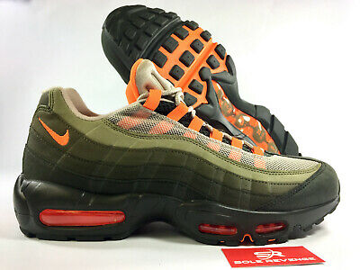 e0fd259ec2 NEW! NIKE AIR MAX 95 AT2865-200 String/Total Orange/Neutral Olive ...
