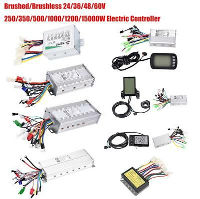 60V 1500W Brushed Brushless LCD Controller Motor Ebike Electric Bike Scooter SD