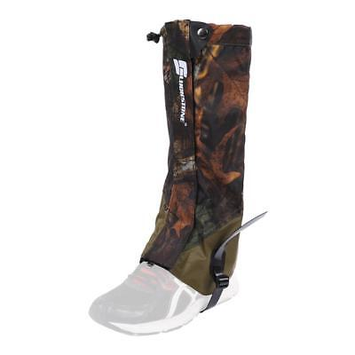Waterproof Leg Gaiters Boot Cover Long Legging Hunting Hiking Camping Climbing