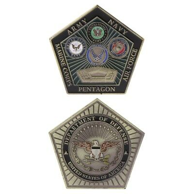 Commemorative Coin American Army Marine Pentagon Collection Arts Gifts Souvenir