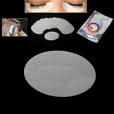 100pairs Under Eye Stickers Pads Patches Foil Lint Free for Eyelash Extensions