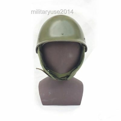 Military Surplus Chinese Type 65 Paratrooper Helmet Plastic Green