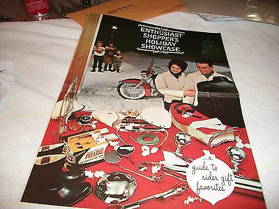 1964 Harley-Davidson Motorcycle Catalog Holiday Enthusiast's Showcase Shopper's