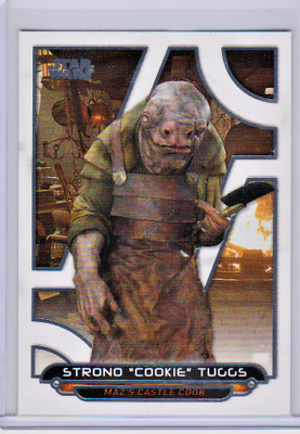 """2018 Topps Star Wars Galactic Files Strono """"cookie"""" Tuggs White 2/5 Tfa-53"""